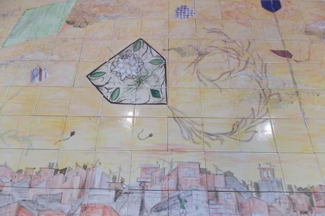 10 azulejos eliane e projeto azu