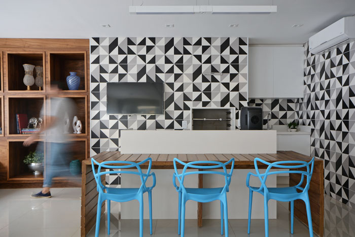 2 azulejo geométrico preto e branco bauhaus eliane revestimentos