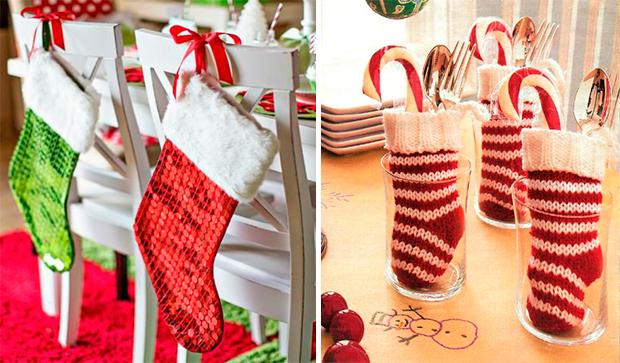 2 decoração para a mesa natalina