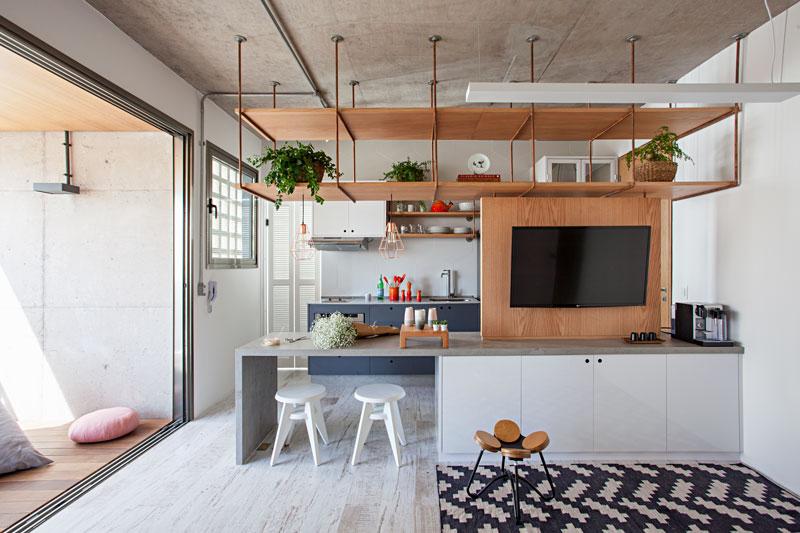 2 inspiração de apartamento minimalista-pto das divisórias-casa-100-arquitetura