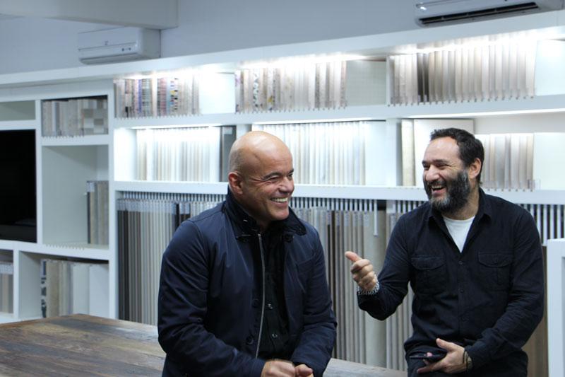 3 Marcelo Rosenbaum visita Eliane Revestimentos para a gravação do projeto Blogger to Blogger