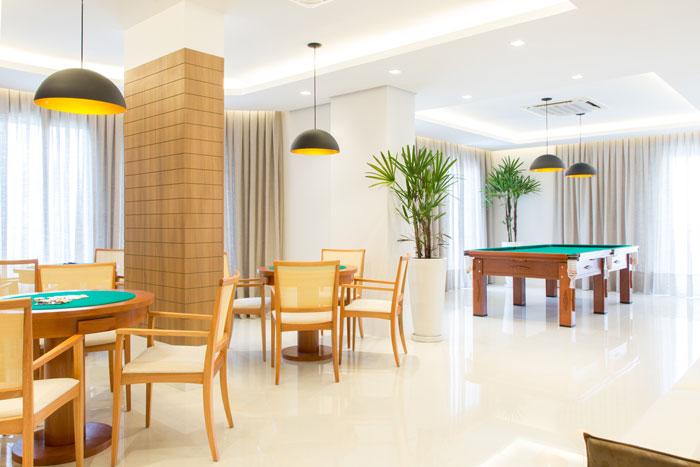 3 Pisos para salão de festas - Porcelanato Glacia White Eliane Revestimentos - Projeto Sharon Fliter