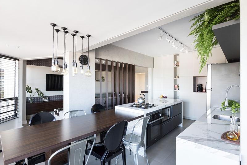 Inspiração: Apartamento clássico e moderno ao mesmo tempo