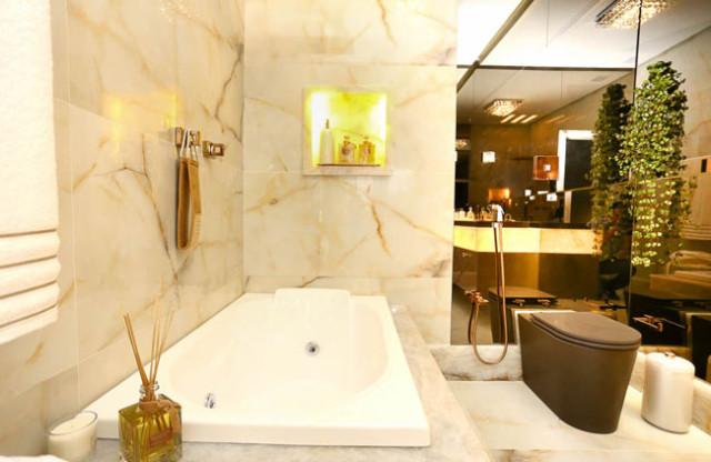 4 ideias banheiro luxo casa cor bahia