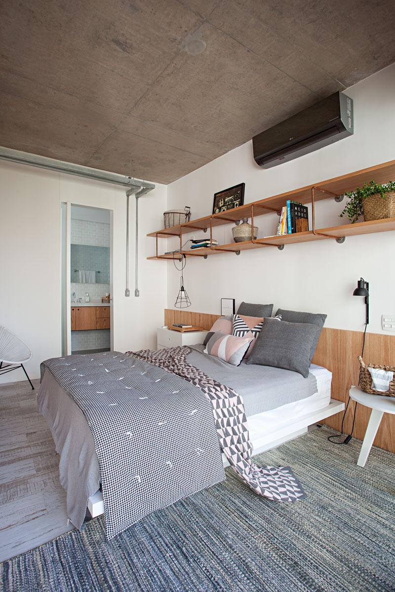 5 apartamento escandinavo e industrial-apto das divisórias-casa-100-arquitetura