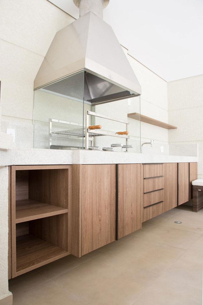 7 piso área da churrasqueira porcelanato munari marfim eliane projeto sharon fliter arquitetura
