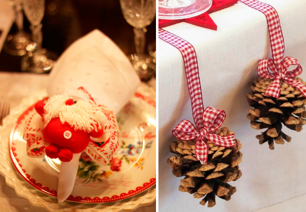 8 ideias mesa de natal