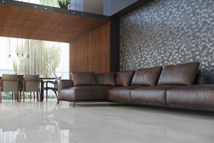 Revestimento para sala: decorando piso e parede