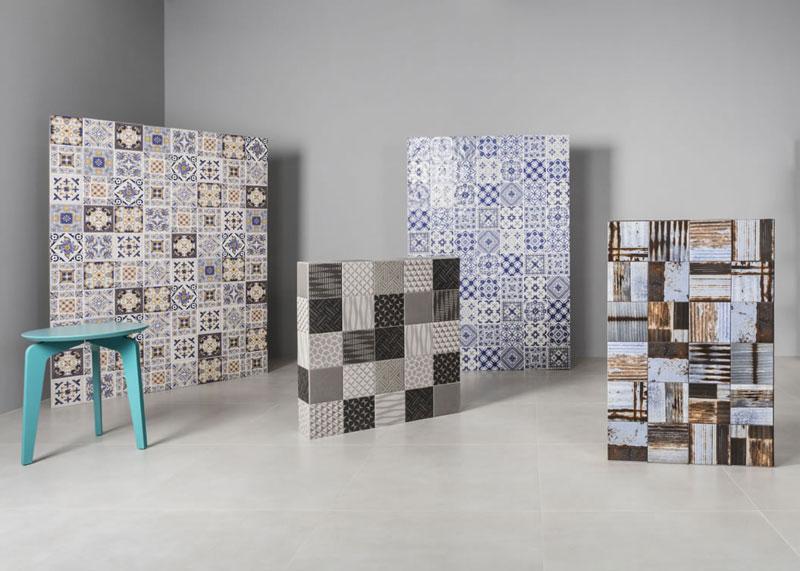 Azulejo patchwork, um clássico da decoração!