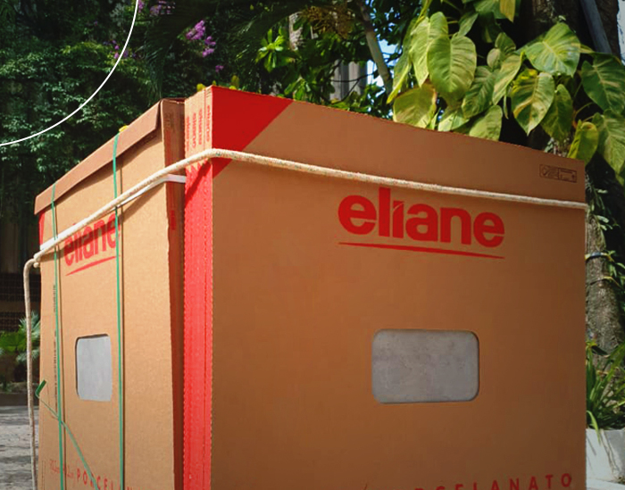 Eliane donates coatings to the radiotherapy sector at Hospital São José