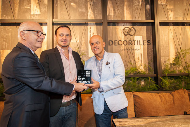 Decortiles conquista prêmios de melhor produto na Expo Revestir 2016