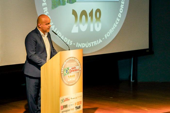 Edson Gaidzinski, Jr no Prêmio Mundo Cerâmico 2018