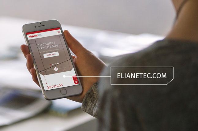 Novo site Eliane Tec