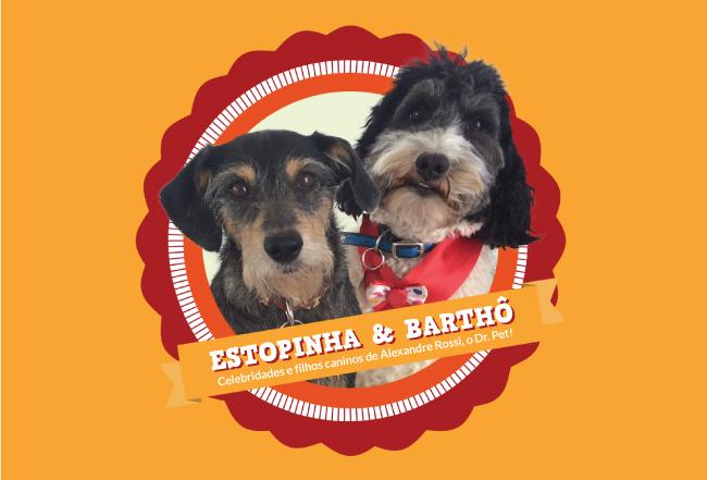 Estopinha e Barthô na Revestir