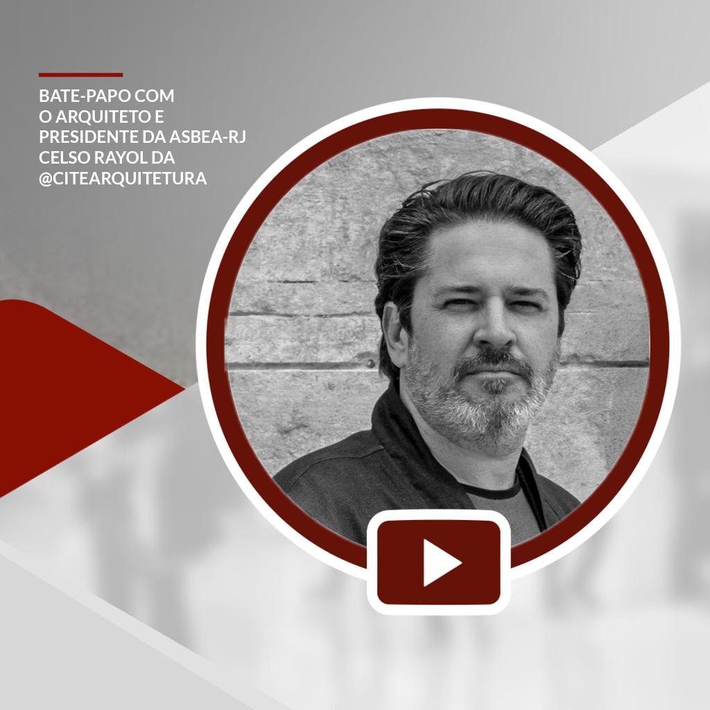 Live: Celso Rayol apresenta uma arquitetura mais responsável e acessível