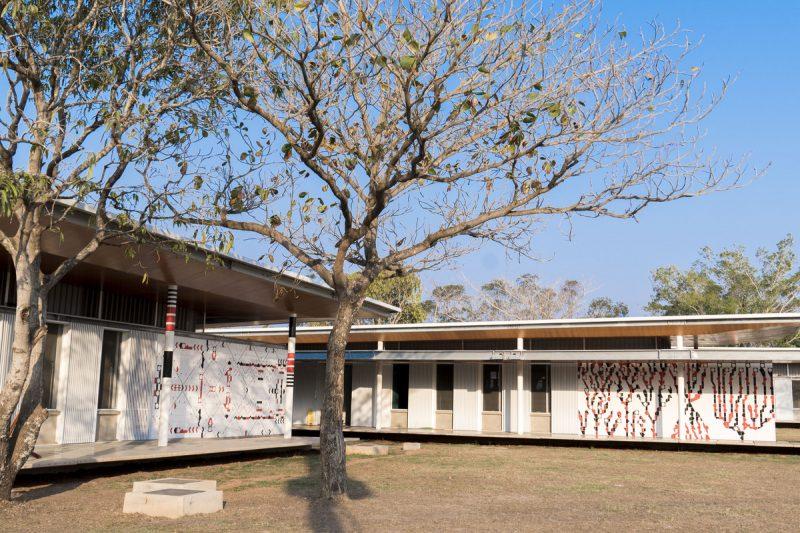 Escola Fundação Bradesco com azulejos personalizados da Eliane.