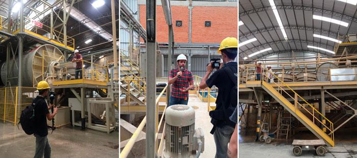 O maior canal do youtube sobre ciência e tecnologia visita a fábrica da Eliane