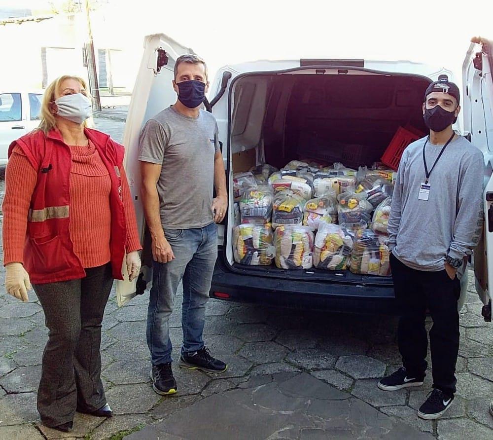 Campanha de Doação Arrecada Mais de 2 Toneladas de Alimentos