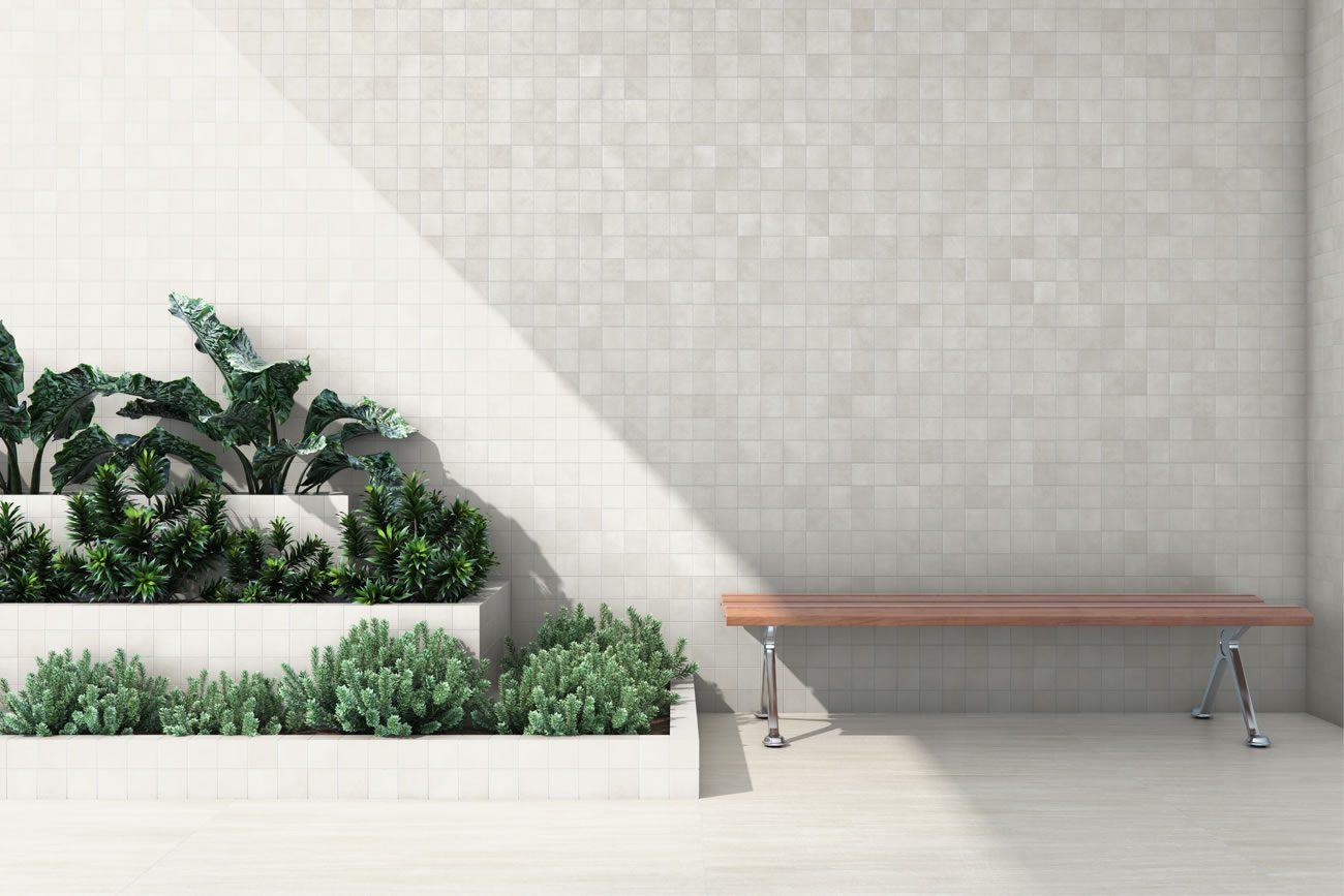 Ambiente Eliane: munari-branco-mesh-ma-7,5×7,5cm_travertino-romano-ext-59×118,2cm-amb