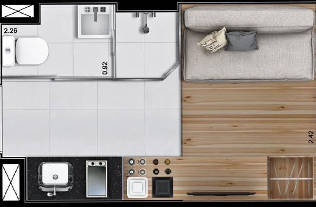 Nova forma de morar: apartamentos de até 10m² já são realidade