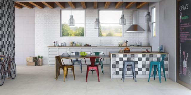 azulejos pisos geometricos com textura eliane revestimentos coleção 2015