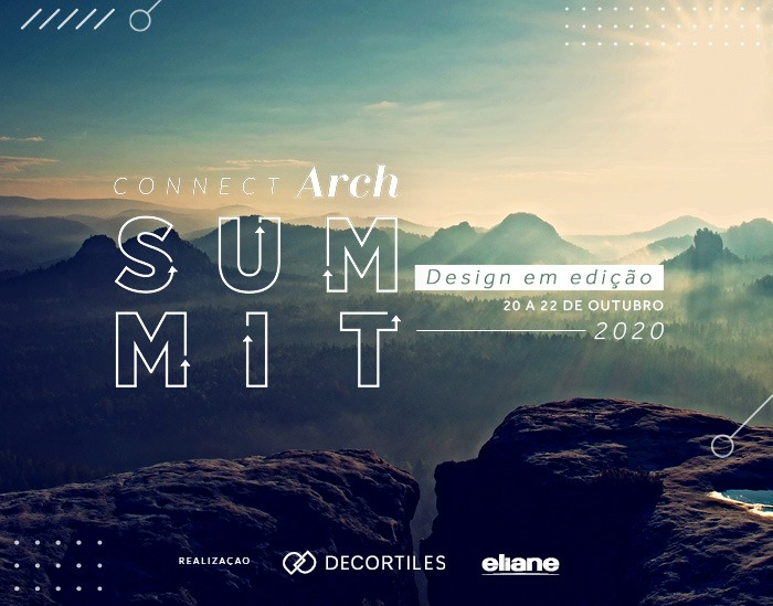 ConnectArch Summit: Eliane e Decortiles reúnem grandes nomes da arquitetura e do design
