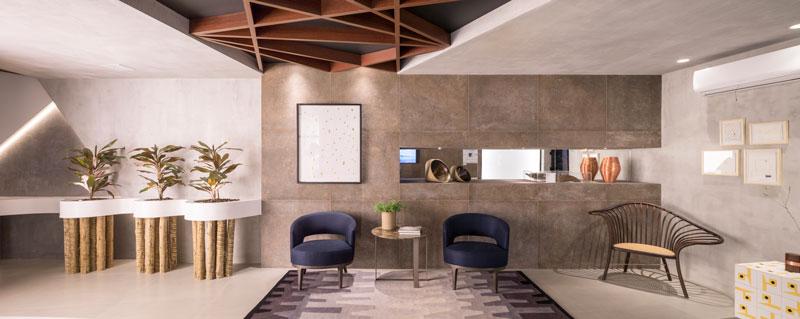 consultório do cabelo por simmetria arquitetura