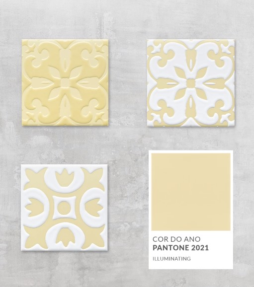 Pantone colors of the year: gray and yellow