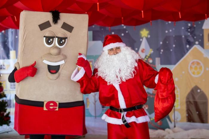 Já é Natal na Eliane!