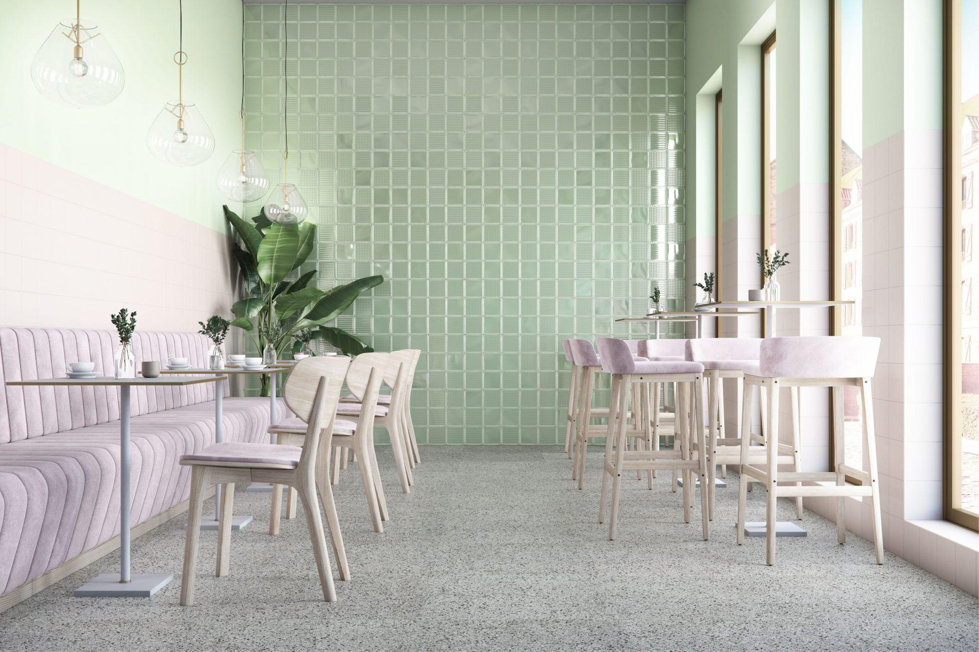 Coleção Decora e a estética dos blocos de vidro