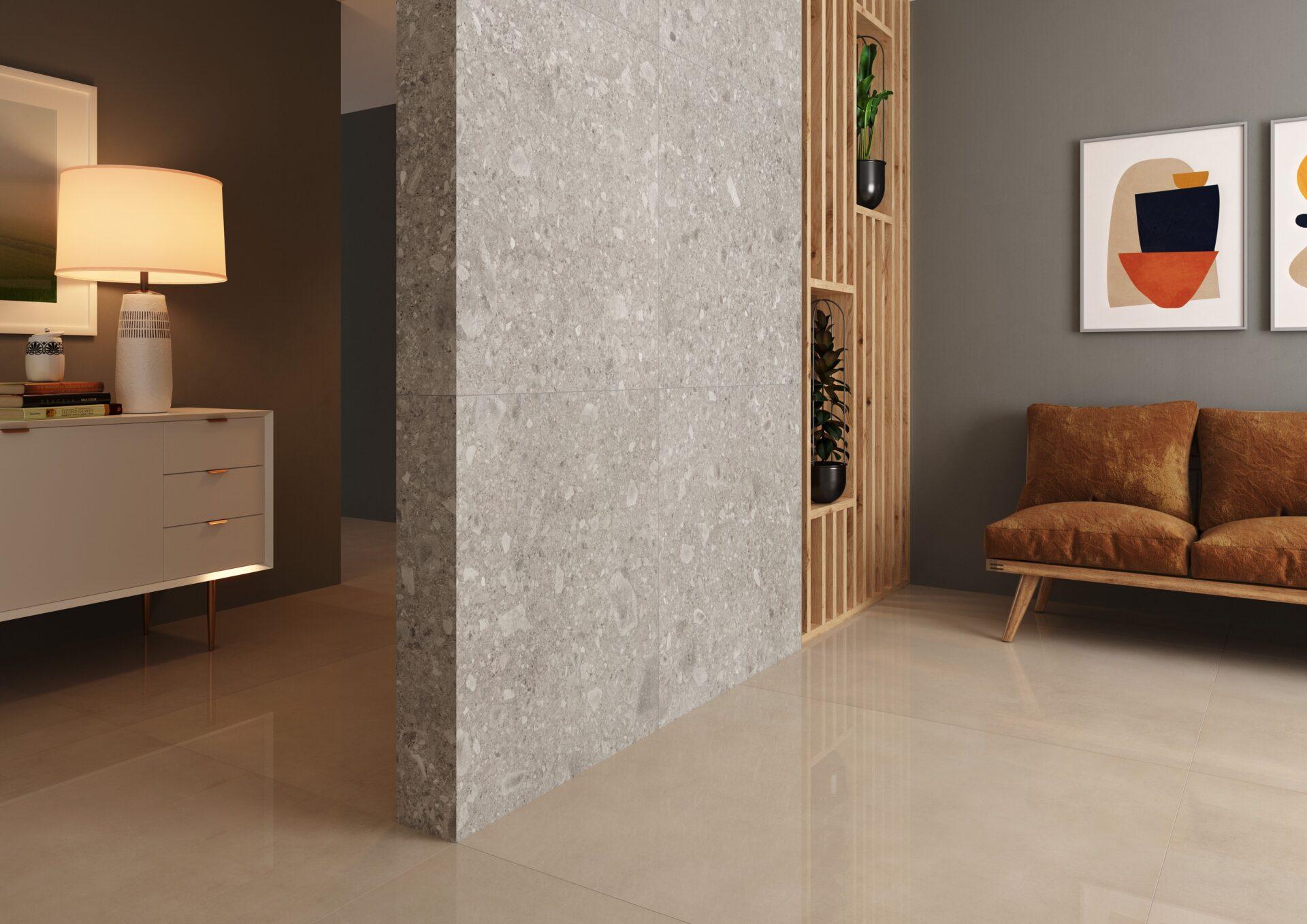 Munari Cimento PO 120x120cm | Iseo Grey AC 90x90cm