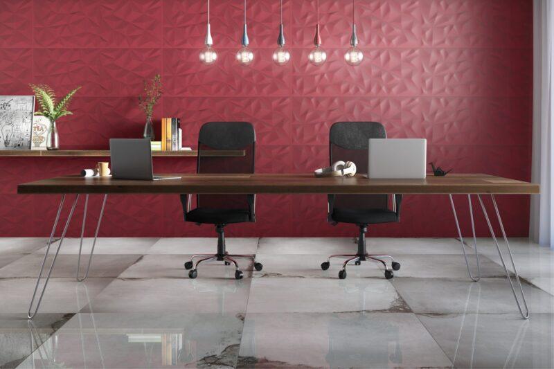 Revestimentos Contemporâneos para Salas e Áreas de Trabalho