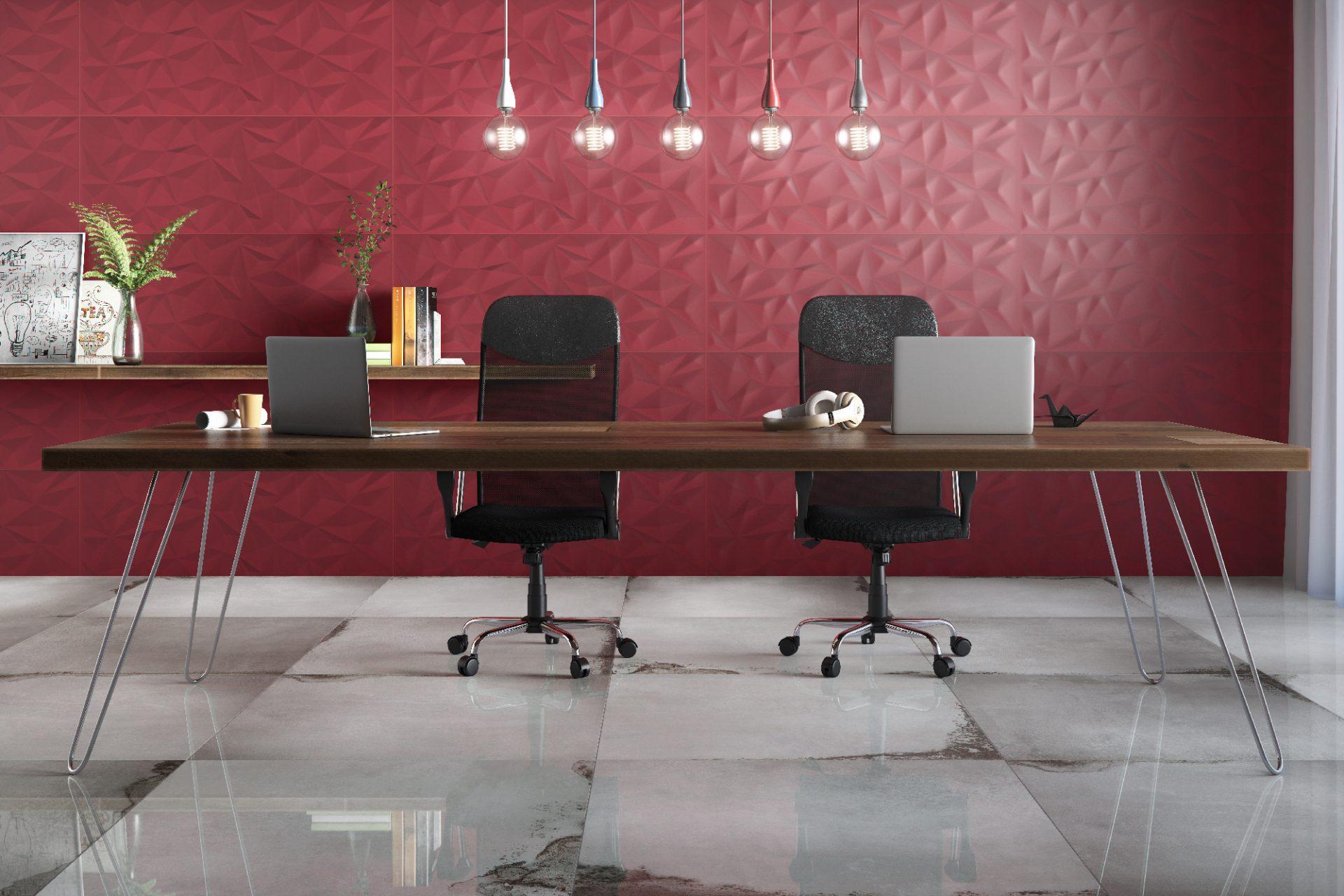 Poligon Vermelho AC 45×120 – Blaze Gray PO 90x90cm