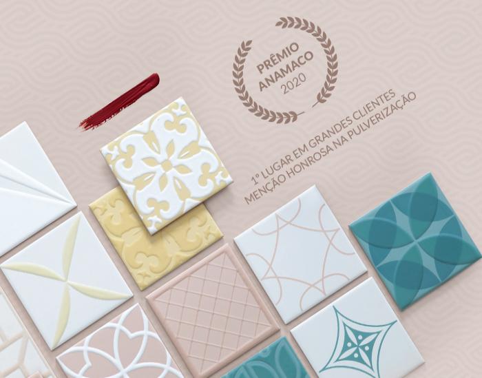 Eliane Revestimentos conquista Prêmio Anamaco