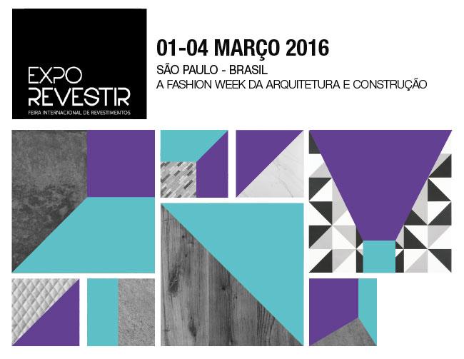 Coloque na agenda: Expo Revestir 2016