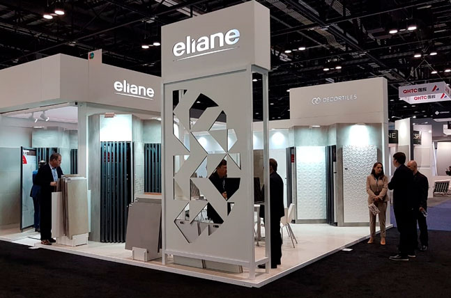 Eliane na Coverings 2019