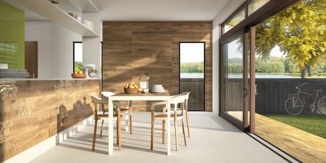 piso e parede com porcelanato que imita madeira eliane revestimentos lançamentos