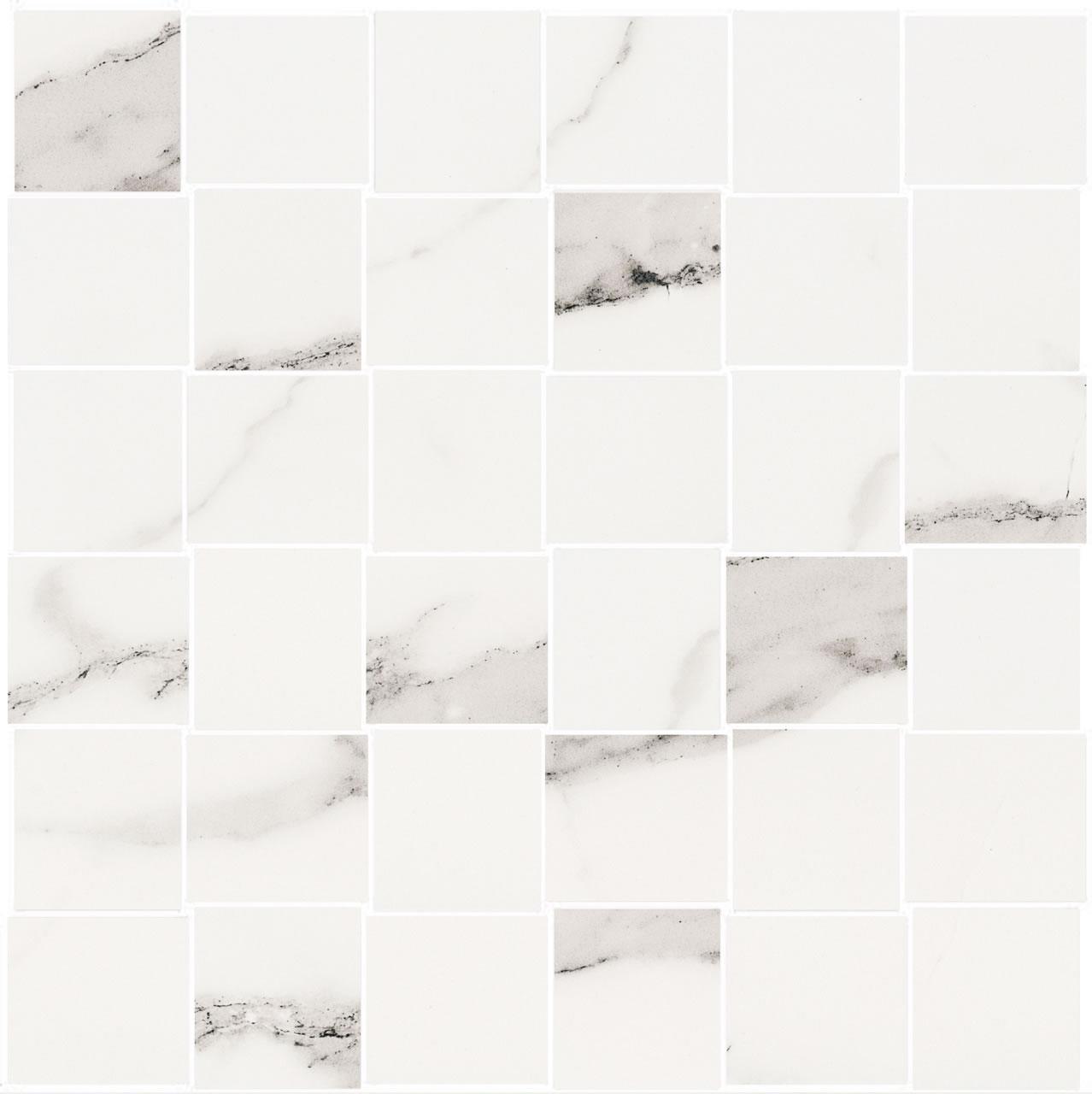 belmar white weave mosaic t-1100 30×30