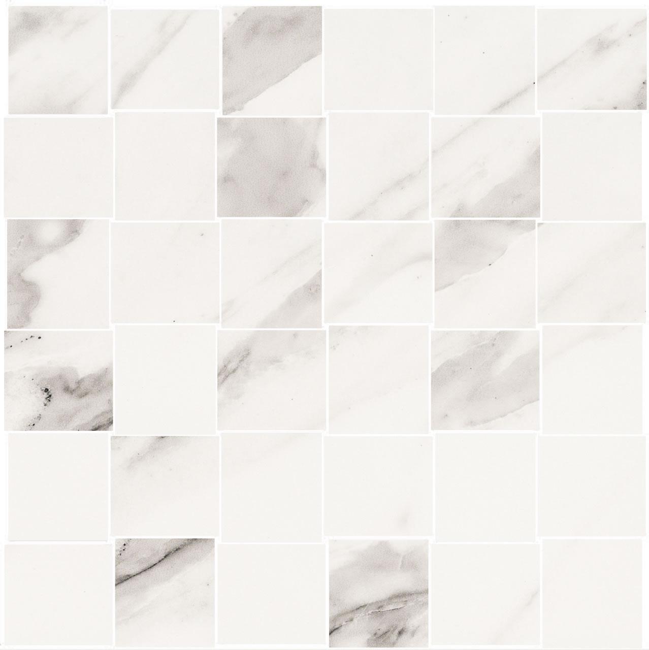 belmar white weave mosaic t-1100