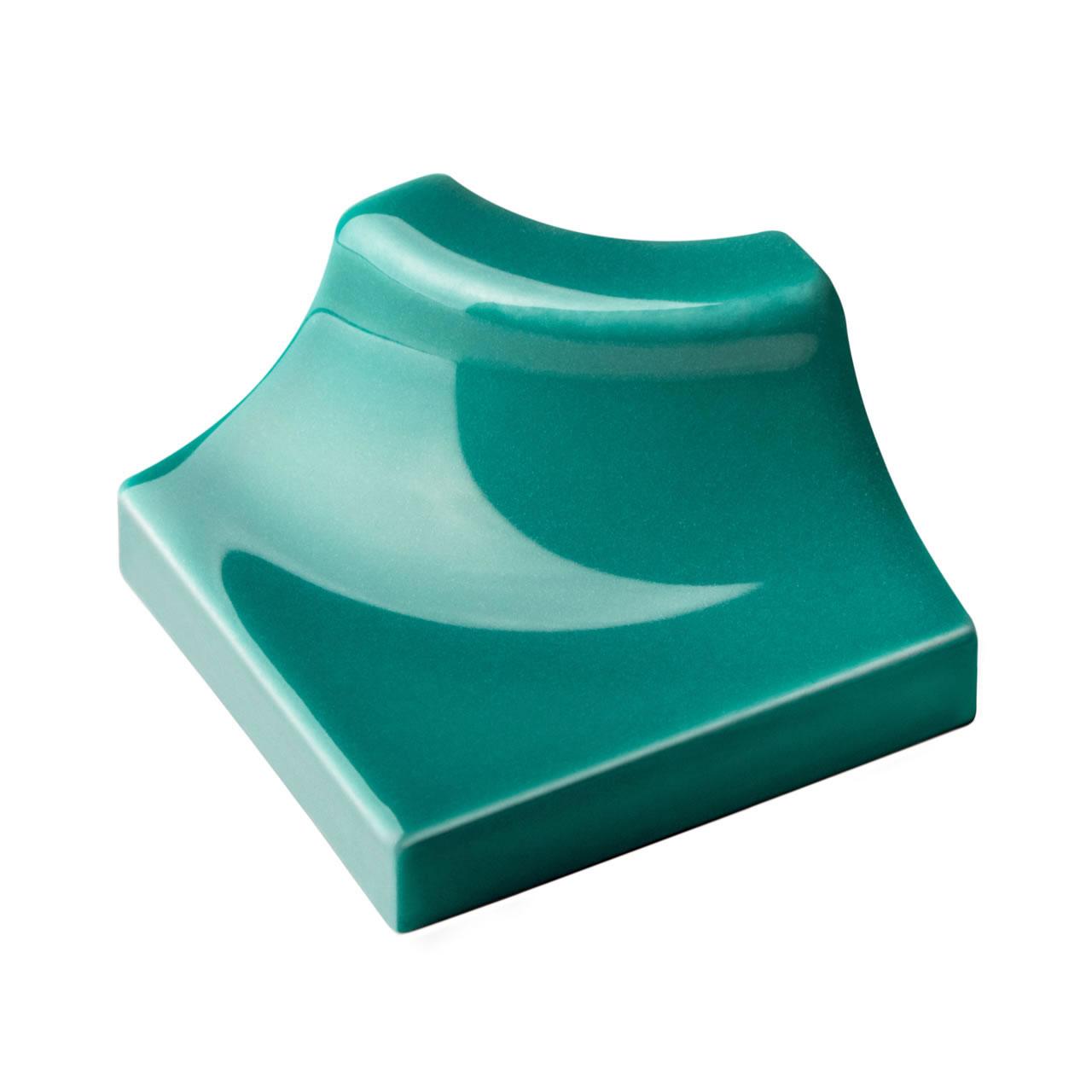 canto interno verde jade 2,5×2,5