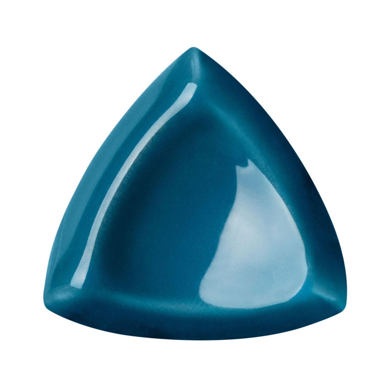 castanha interna azul petróleo 2,5×2,5