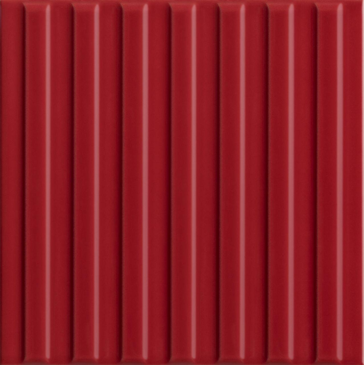 poente linha vermelho br 15,5×15,5