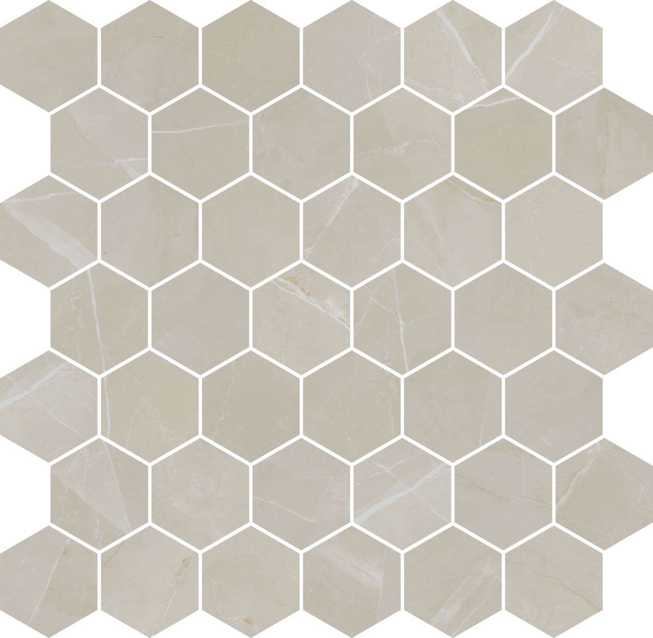 Pulpis 3000 hex cream t-po 30×30