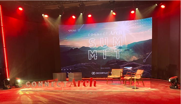 ConnectArch Summit: gathers more than 10 thousand people throughout the event